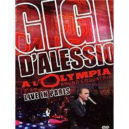 Gigi d'Alessio a l'Olympia