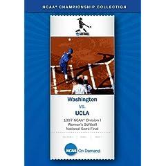 1997 NCAA Division I  Women's Softball National Semi-Final - Washington vs. UCLA