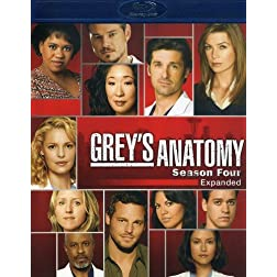 Grey's Anatomy: The Complete Fourth Season [Blu-ray]