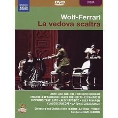 Ermanno Wolf-Ferrari -La vedova scaltra / Sollied, Muraro, D'Aguanno, Esposito, Martin (Teatro La Fenice)
