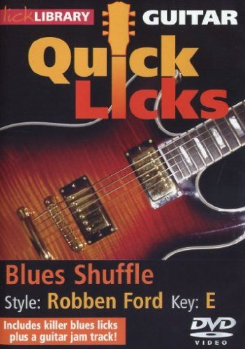 Quitar Quick Licks: Blues Shuffle Key