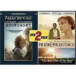 ATONEMENT &amp; PRIDE &amp; PREJUDICE (2005) (2PC) / (WS) - ATONEMENT &amp; PRIDE &amp; PREJUDICE (2005) (2PC) / (WS)