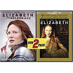 ELIZABETH: THE GOLDEN AGE & ELIZABETH (1998) (2PC) - ELIZABETH: THE GOLDEN AGE & ELIZABETH (1998) (2PC)