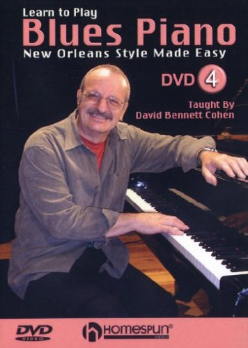 Learn to Play Blues Piano #4-New Orleans Style Made Easy