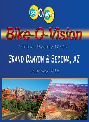 Bike-O-Vision Cycling DVD #15 Grand Canyon & Sedona, AZ