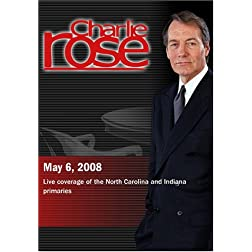Charlie Rose - Live coverage North Carolina and Indiana primaries (May 6, 2008)