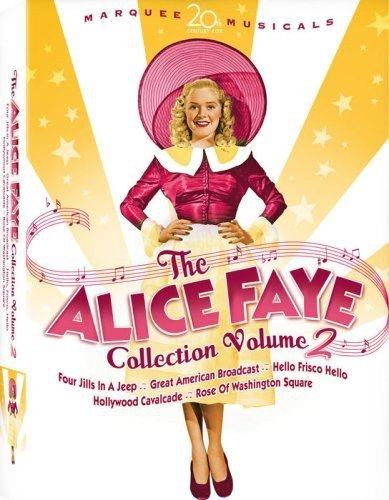 Alice Faye Collection 2 (Rose of Washington Square/Hollywood Cavalcade/The Great American Broadcast/Hello, Frisco, Hello/Four Jills in a Jeep) (Full Chk Gift)