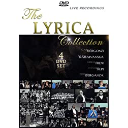 Carlo Bergonzi: Live In COncert - The Lyrica Collection