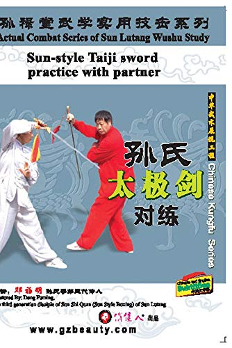 Sun-style Taiji sword practice with partner