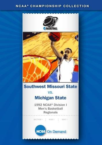 1992 NCAA Division I  Men's Basketball Regionals - Southwest Missouri State vs. Michigan State