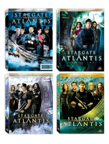 Stargate Atlantis Seasons 1-4
