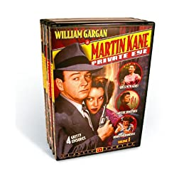 Martin Kane Private Eye - Volumes 1-4 (4-DVD)