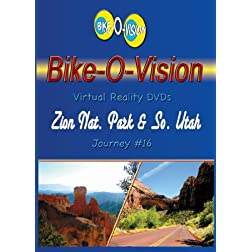 Bike-O-Vision Cycling DVD #16 Zion Nat. Park & So. Utah