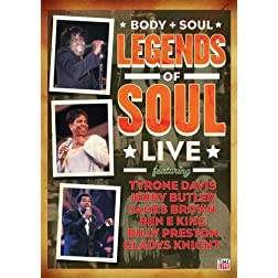 Body and Soul: The Legends of Soul Live