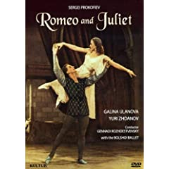Romeo & Juliet / Galina Ulanova, Leonid Lavrovsky, Gennadi Rozhdestvensky