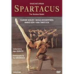 Khachaturian - Spartacus / Yuri Grigorovich, Natalia Bessmertnova, Vladimir Vasiliev, Orchestra of the Bolshoi
