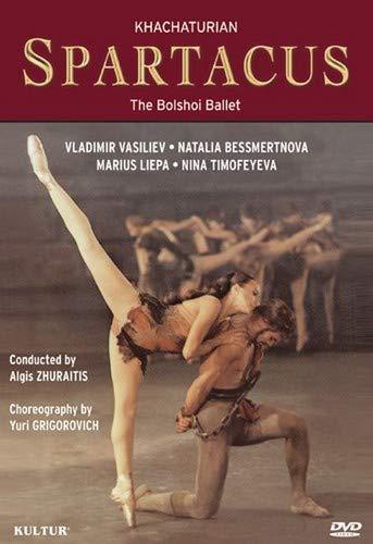 Khachaturian - Spartacus / Yuri Grigorovich, Natalia Bessmertnova, Vladimir Vasiliev, Orchestra of the Bolshoi