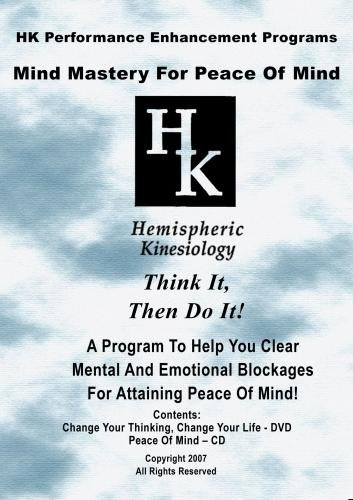 Mind Mastery For Peace Of Mind (DVD & CD)