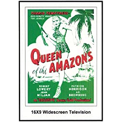 Queen of the Amazons Widescreen TV