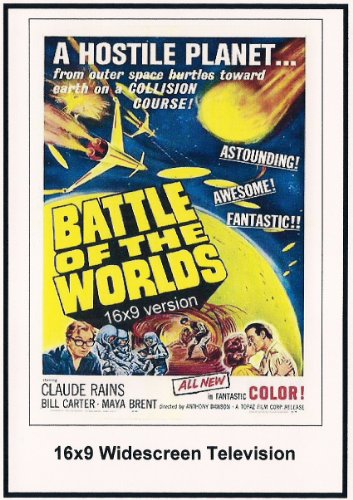 Battle Of The Worlds Widescreen TV
