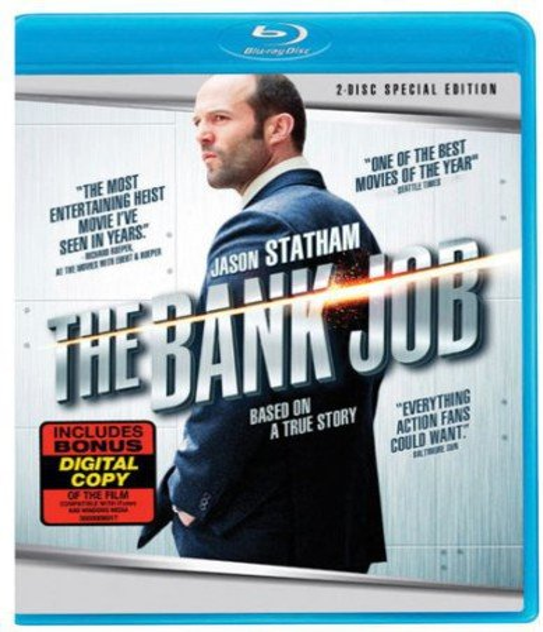 The Bank Job [Blu-ray] + Digital Copy