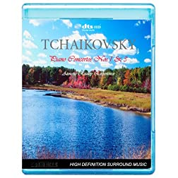 Tchaikovsky - Piano Concertos Nos. 1&3 - Acoustic Reality Experience [7.1 DTS-HD Master Audio Disc] [Blu-ray]