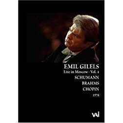 Emil Gilels Live in Moscow, Vol 4