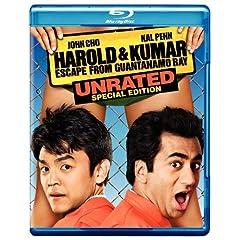 Harold & Kumar Escape From Guantanamo Bay [Blu-ray]