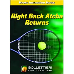 Nick Bollettieri's Stroke Instruction Series: Right Back Atcha Returns DVD