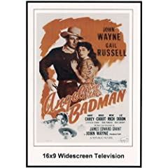 Angel And The Badman Widescreen TV