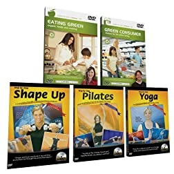 The Living Series Complete Fitness & Health DVD Library