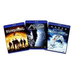 Blu-ray Sci-Fi Bundle, Vol. 2 (Stargate Continuum / Sunshine / Aliens vs. Predator) - (Amazon.com Exclusive) [Blu-ray]