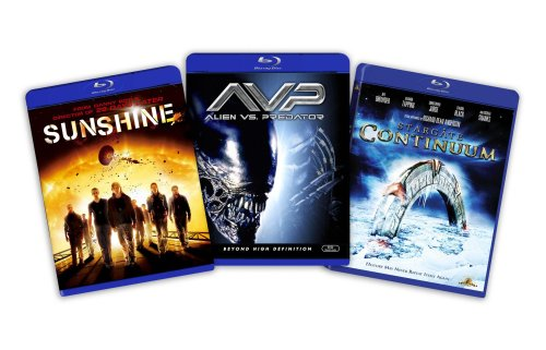 Blu-ray Sci-Fi Bundle, Vol. 2 (Stargate Continuum / Sunshine / Aliens vs. Predator) - (Amazon.com Exclusive) [Blu-ray]