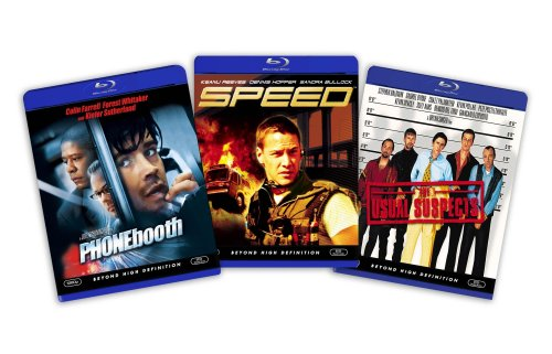 Blu-ray Suspense and Thriller Bundle (The Usual Suspects / Speed / Phone Booth) [Blu-ray]