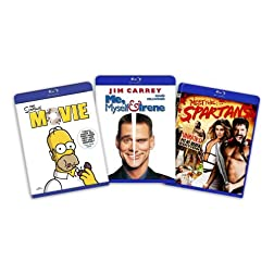Blu-ray Comedy Bundle (Simpsons the Movie / Me, Myself and Irene / Meet the Spartans) [Blu-ray]