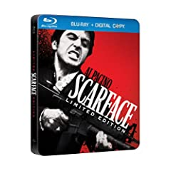 Scarface Limited Edition Steelbook [Blu-ray + Digital Copy]