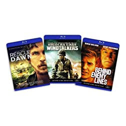 Blu-ray War Bundle (Rescue Dawn / Windtalkers / Behind Enemy Lines) [Blu-ray]