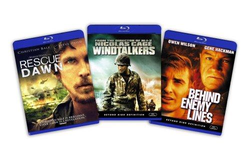 Blu-ray War Bundle (Rescue Dawn / Windtalkers / Behind Enemy Lines) [Blu-ray]