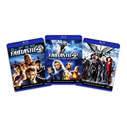 Blu-ray Superhero Bundle (Fantastic Four / Fantastic Four - Rise of the Silver Surfer / X-Men 3 - The Last Stand) [Blu-ray]