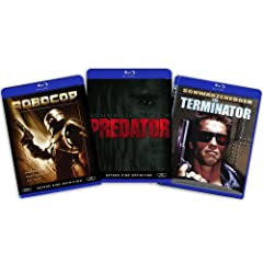Blu-ray Action Bundle (Robocop / Predator / Terminator) [Blu-ray]