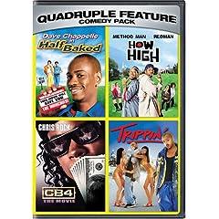 Comedy Pack Quadruple Feature