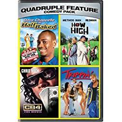 Comedy Pack Quadruple Feature