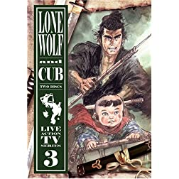 Lone Wolf & Cub TV Series Vol 3
