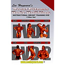 Lee Hayward's Total Fitness Body Building Instructional Weight Training DVD Series 2 Disc Set
