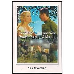 Power, Passion & Murder 16x9 Version Widescreen TV