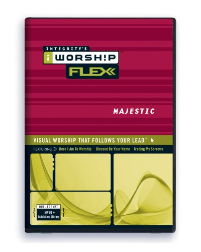 iWorship FLEXX Majestic MPEG DVD-Rom Library