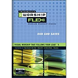 iWorship FLEXX Our God Saves MPEG DVD-Rom Library