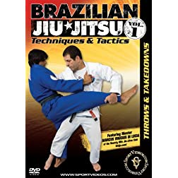 Brazilian Jiu-Jitsu Techniques and Tactics - Vol. 1: Throws and Takedowns