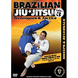 Brazilian Jiu-Jitsu Techniques and Tactics - Vol. 3: Sweeps and Reversals