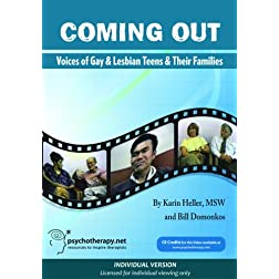 Coming Out: Voices of Gay and Lesbian Teens and their Families (Individual Version)